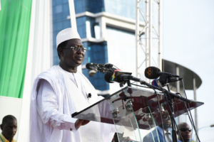 Soumaïla Cissé - meeting de Bamako le 8 juillet 2018