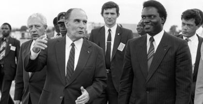 09 archives mitterrand responsabilite france genocide rwanda - La Diplomatie