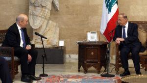 07 liban jean-yves le drian menaces inefficaces - La Diplomatie